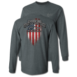 Dark Heather Chevy Nation Long Sleeve T-Shirt
