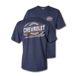 Heather Navy Genuine Quality Parts America T-Shirt