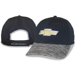 Gold Bowtie Black Cap w/ Heather Bill