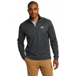 Charcoal 1/4 Zip Soft Cotton Chevrolet Pullover Jacket