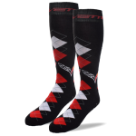Corvette Argyle Crew Socks