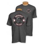 Dark Heather Mr. Crosswrench Live Fast T-Shirt